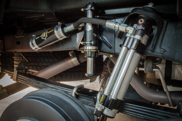 icon hydraulic air bump stop systems toyota tacoma rear hydraulic air bumpstop installed