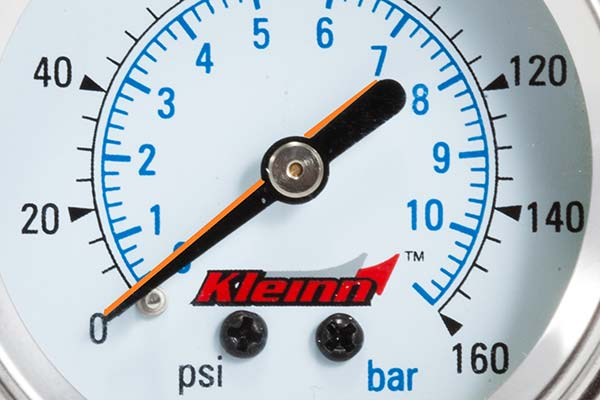 kleinn dash mount air pressure gauges closeup3