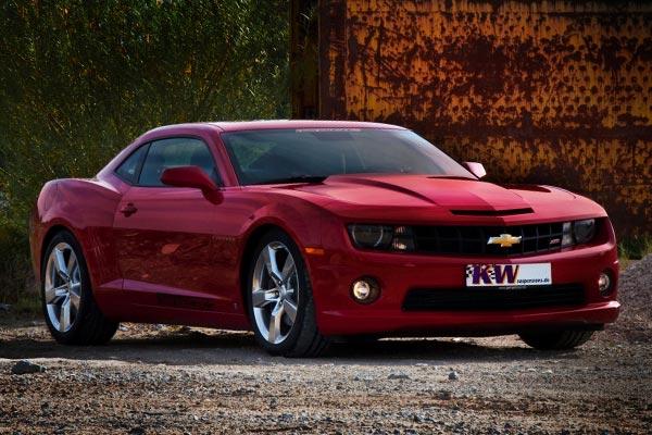 kw coilover shocks Chevrolet Camaro