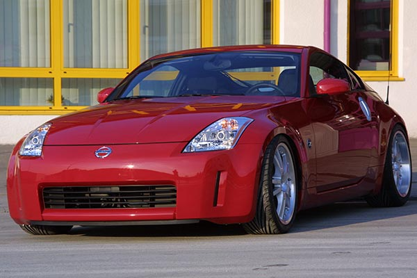 kwsuspension nissan350z