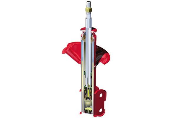 kyb agx shocks struts strut cutaway