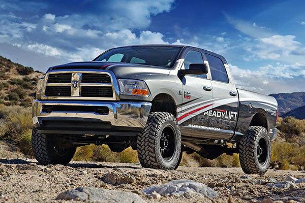 readylift dodge ram 2500 with readylift lift kit