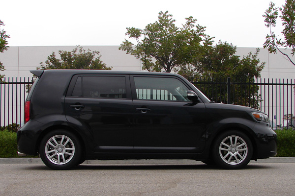 tanabe df210 lowering springs scion xb installed