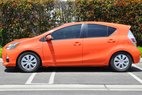 tanabe nf210 lowering springs toyota prius c installed