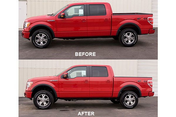 tuff country lift kit upgrade components before after f150
