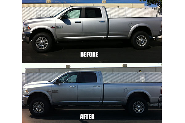 tuff country lift kit upgrade components before after ram