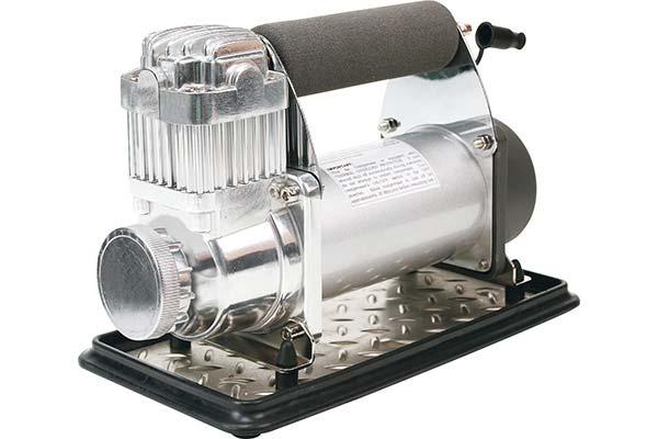 viair 400p portable air compressor angled