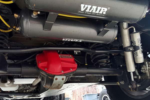 viair air tanks installed