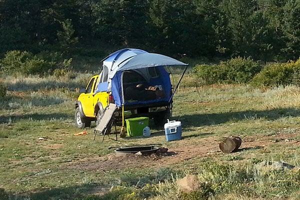 2944 napier sportz truck tent 57 series nissan frontier