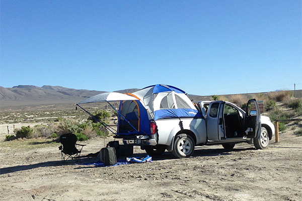 2944 napier sportz truck tent 57 series setup