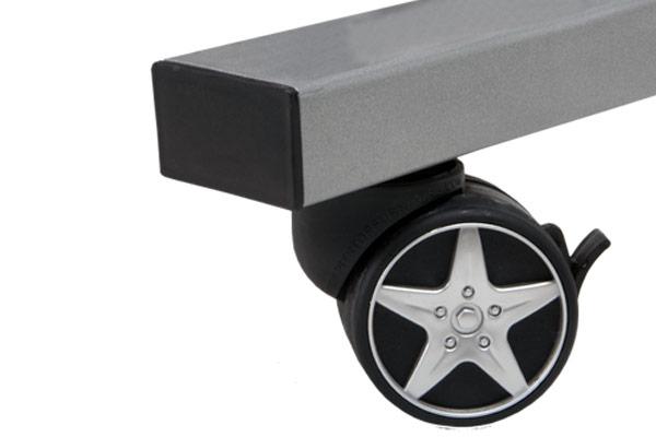 intro tech automotive pitstop compact desk lockable wheel