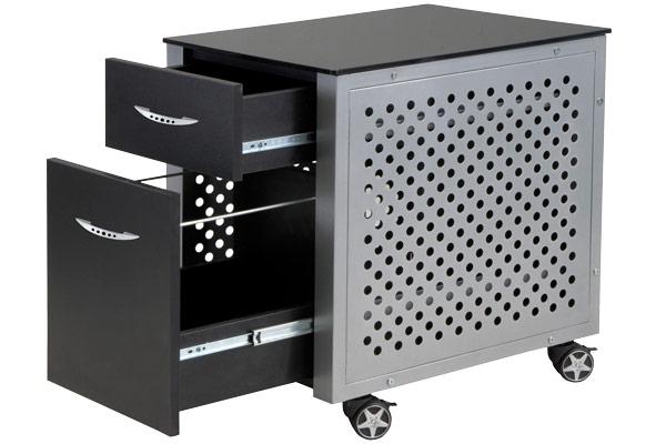 intro tech automotive pitstop file cabinet open