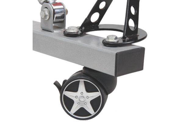 intro tech automotive pitstop gt spoiler desk pullout keyboard tray lockable wheel