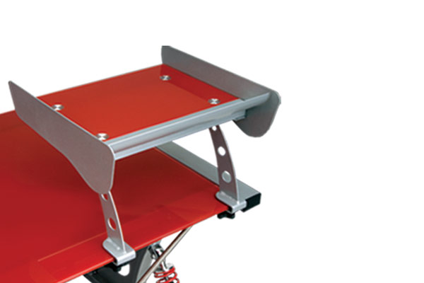 intro tech automotive pitstop gt spoiler desk spoiler tray