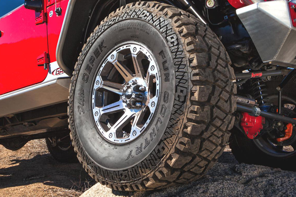 dick cepek fun country tires jeep lifestyle detail