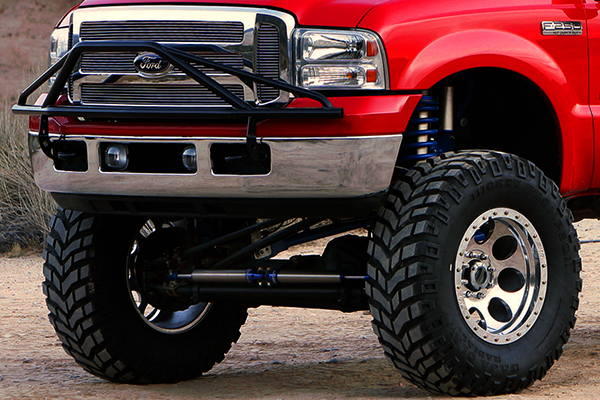 mickey thompson baja claw ttc radial tires f250 lifestyle detail