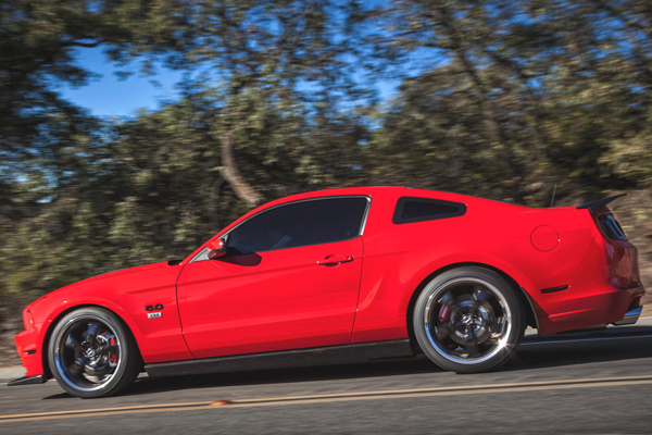 mickey thompson street comp tires mustang acceleration