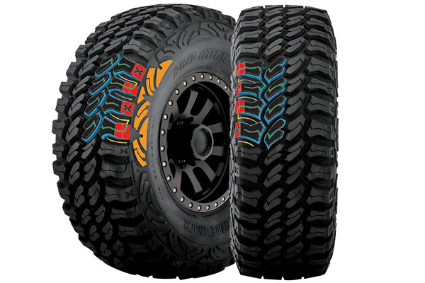 pro comp xtreme mt2 radial tires tread design graphic