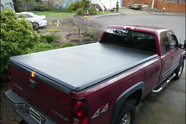 Chevy Silverado Bed Cover