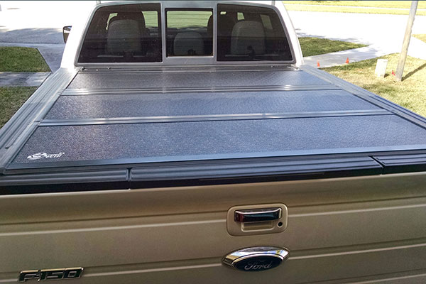 how to make a tonneau cover look new