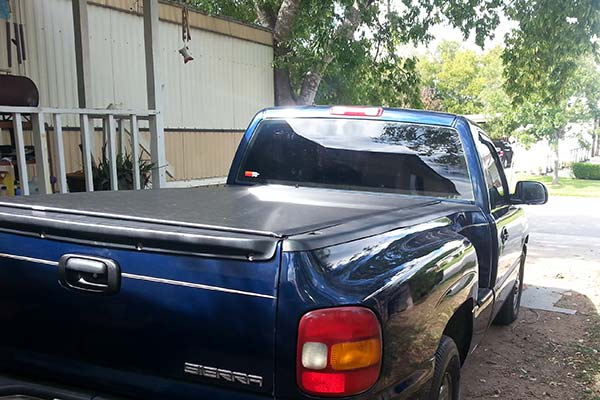 Customer Submitted Image - TonnoSport Tonneau Cover for 1999 to 2006 Chevy Silverado & GMC Sierra