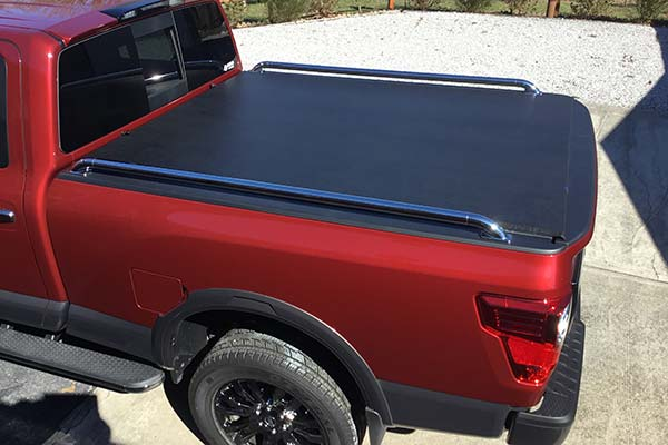 Customer Submitted Image - TonnoSport Tonneau Cover for 2016 to 2019 Nissan Titan XD