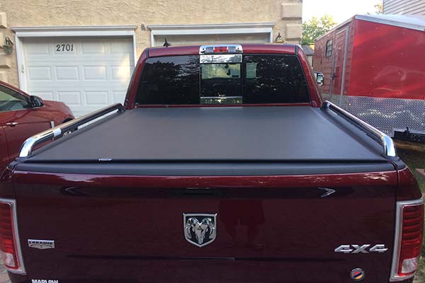 Customer Submitted Image - TonnoSport Tonneau Cover for 2009 to 2019 Dodge Ram