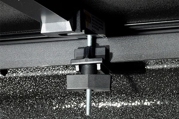 american tonneau hard tri fold tonneau cover clamp