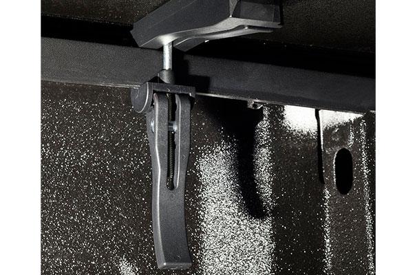 american tonneau hard tri fold tonneau cover rearclamp