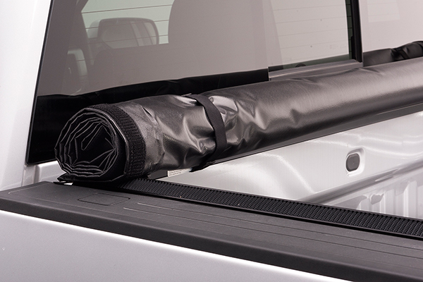 american tonneau soft roll up tonneau cover rolled up