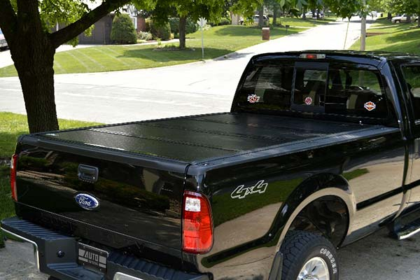 BAKFlip G2 Tonneau Cover Installed on 2008 Ford F-350 Long Bed - Customer Submitted Image