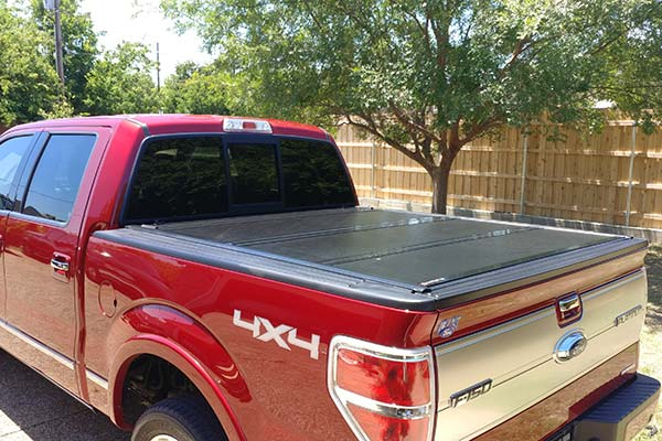 G2 BAKFlip Tonneau Cover Installed on 2013 Ford F-150 Short Bed - Customer Submitted Image