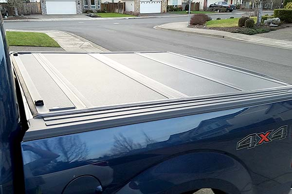 BAKFlip MX4 Truck Cover Installed on 2017 Ford F-150 Short Bed - Customer Submitted Image
