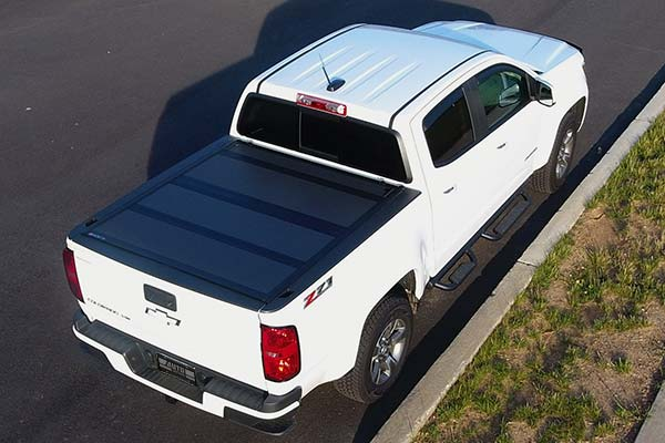 BAKFlip MX4 Folding Truck Cover Installed on 2017 Chevy Colorado Short Bed - Customer Submitted Image