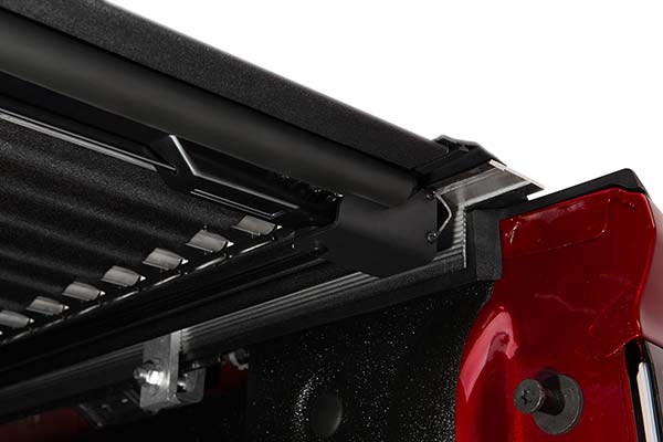 bak x4 underside shot of locking release rail mechanism