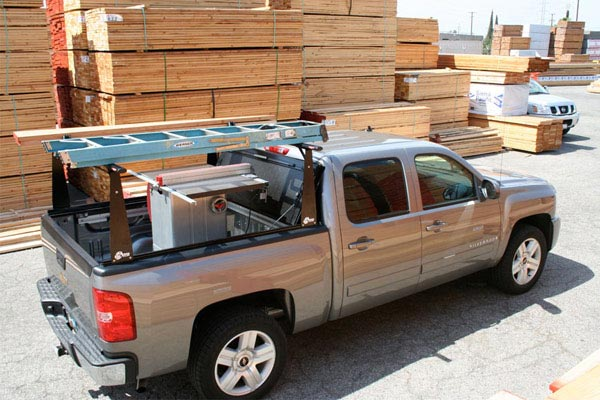 bak bakflip cs f1 tonneau cover with bakbox 2 toolbox construction site
