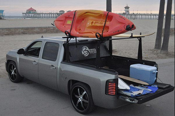 bak bakflip cs tonneau cover beach lifestyle