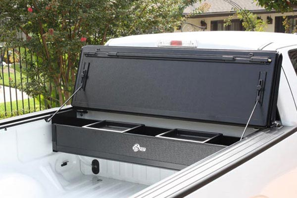 bak bakflip g2 and bakbox tonneau toolbox flipping back