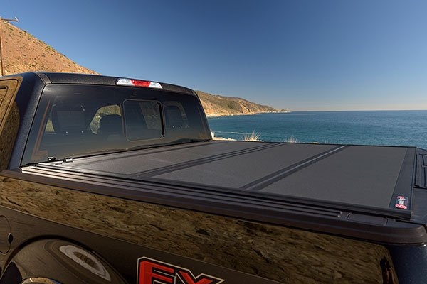 bak bakflip mx4 folding tonneau cover  closed lifestyle