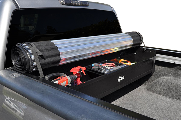 bak revolver x2 roll up tonneau cover tool box