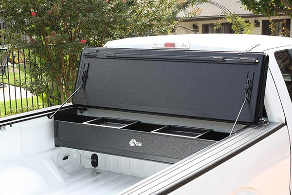 bakflip F1 bakbox tonneau toolbox window protection