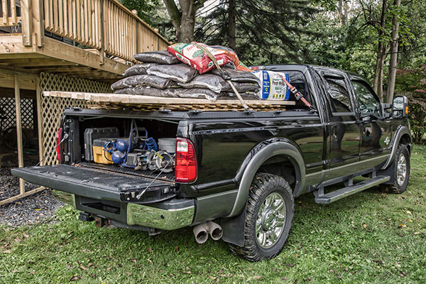 diamondback hd truck bed cover cargo