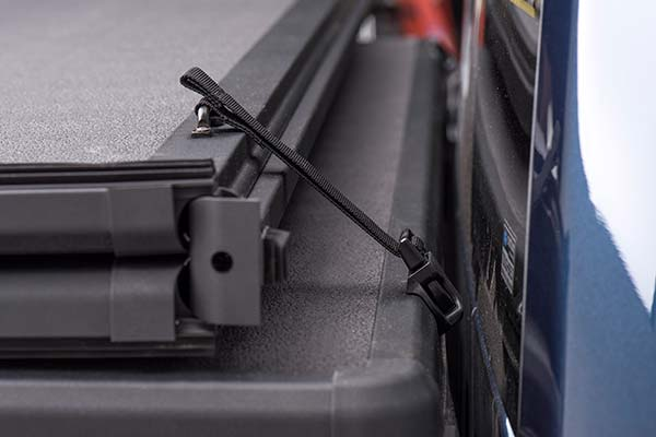 extang solid fold 2 tonneau cover strap detail