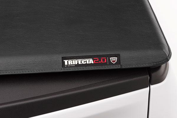 extang trifecta 2 0 toolbox tonneau cover badge