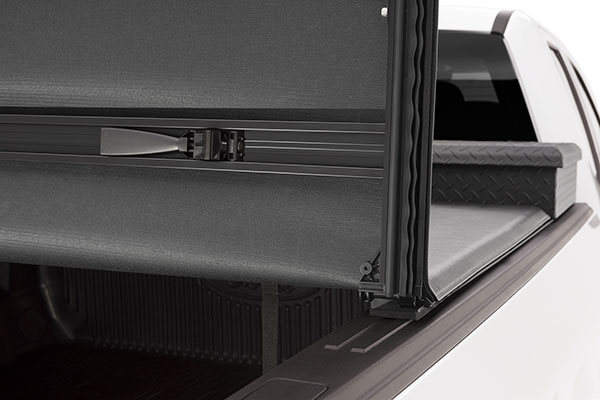 extang trifecta 2 0 toolbox tonneau cover open