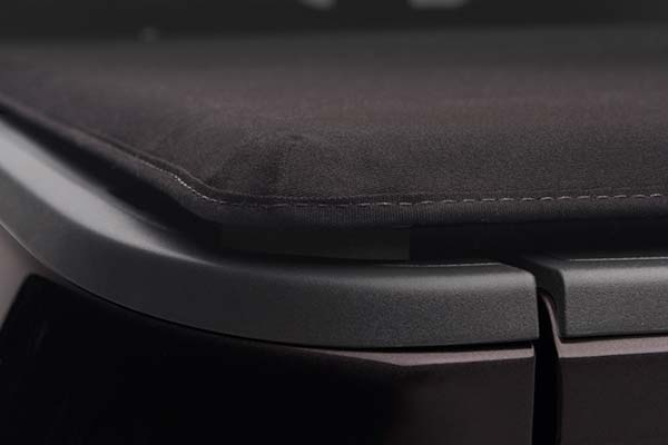 Close Up of Corner Seal on Extang Trifecta 2.0 Soft Folding Tonneau Cover