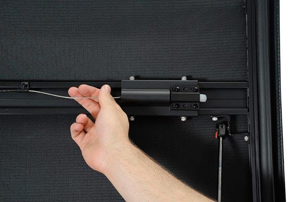 extang emax folding tonneau cover secure shut