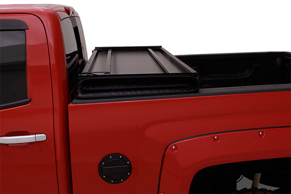 lund hard fold tonneau cover folded