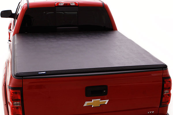 lund hard fold tonneau cover installed