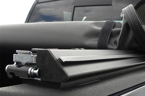luverne soft roll up tonneau cover j channel